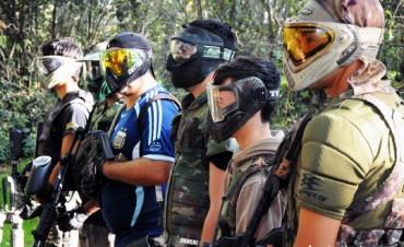 Equipo de paintball de Saladillo intervendrá en el Metropolitano
