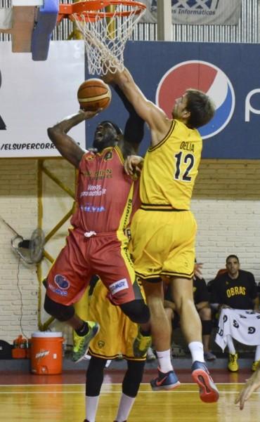 Obras Basket se impuso 82-75 ante Quilmes en Once Unidos