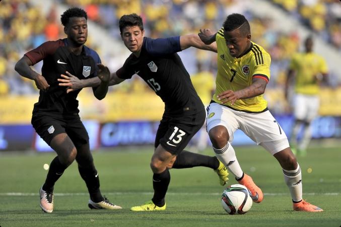 EEUU espera otra gran batalla contra Colombia en el partido final para llegar a Rio 2016