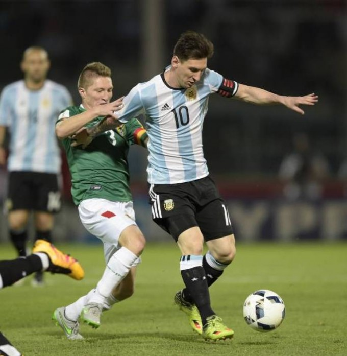 Argentina venció a Bolivia y llegó a puestos de clasificación