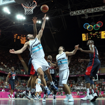 Ginóbili acepta ser parte de la selección argentina en Rio 2016