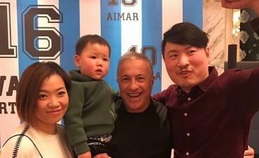 El Vasco Olarticoechea se encuentra en China