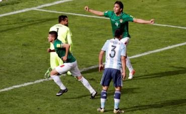 Sin Messi, Argentina jugó mal y perdió con Bolivia