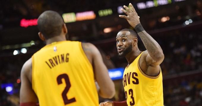 Irving y Lebron guían los CAVS mientras que Durant sobresale en los Warriors