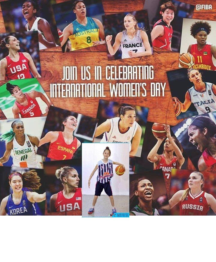 Felíz Día a todas las mujeres en especial a las deportistas