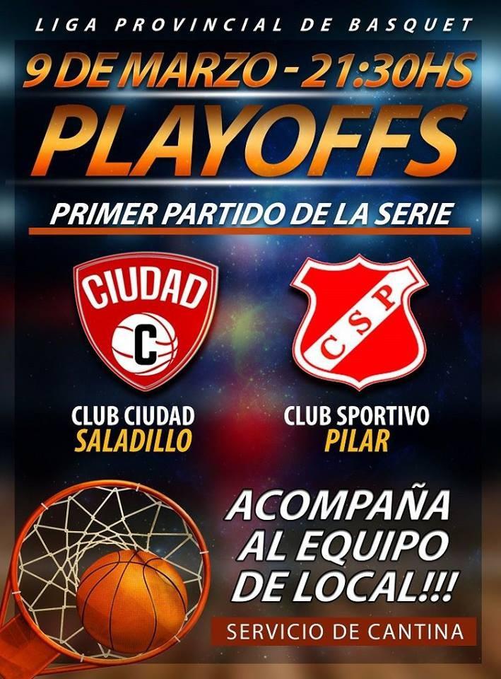 Por el Provincial de clubes Mayores Ciudad recibe hoy a Sportivo Pilar