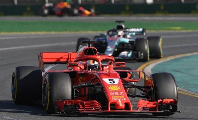 Vettel se impuso  en el GP de Australia