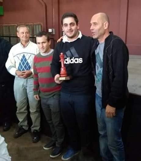 Nelson Lujan campeón de la segunda fecha del Gran Prix en Las Flores