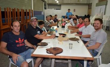 Intendente concurrió a la cena con representantes de los Clubes