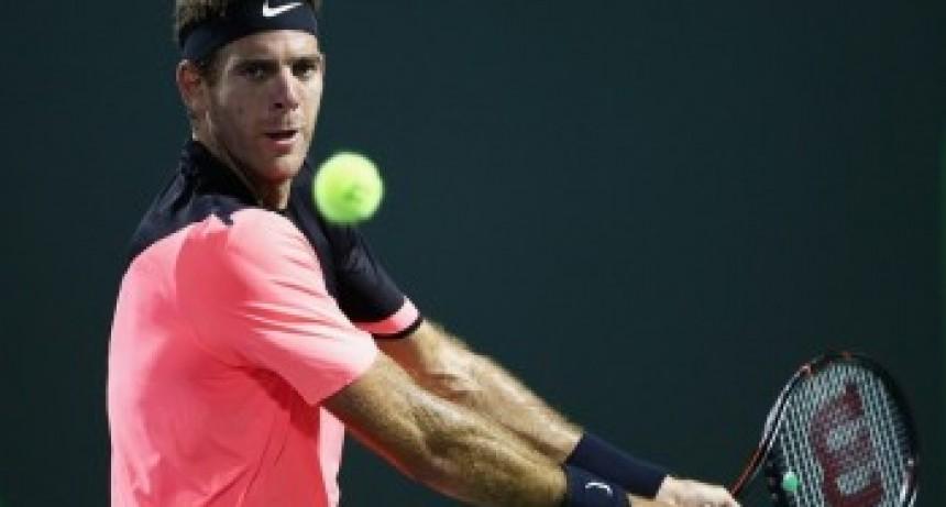 Masters de Miami: Del Potro arrasó ante Nishikori y avanzó a los octavos de final
