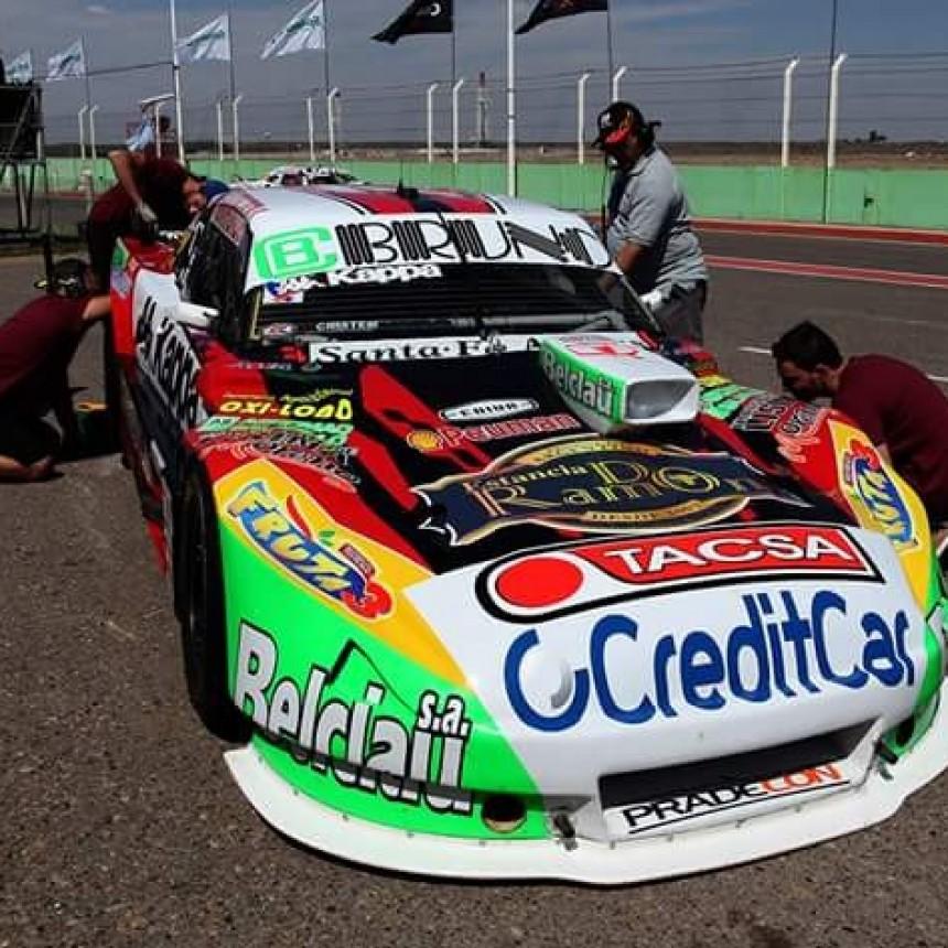 Bruno viajó a San Luis para disputar la tercera fecha del TC