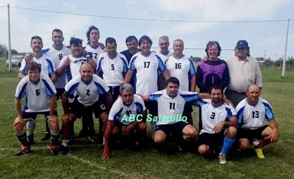 Se puso en movimiento el Torneo de Veteranos de Fútbol