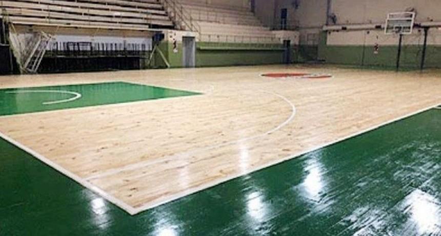 Gimnasia de Chivilcoy inaugura el piso flotante de la cancha de Basquet