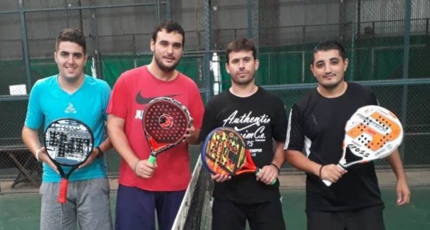 Saladillenses llegaron a la final del Torneo de Padel en Rosario