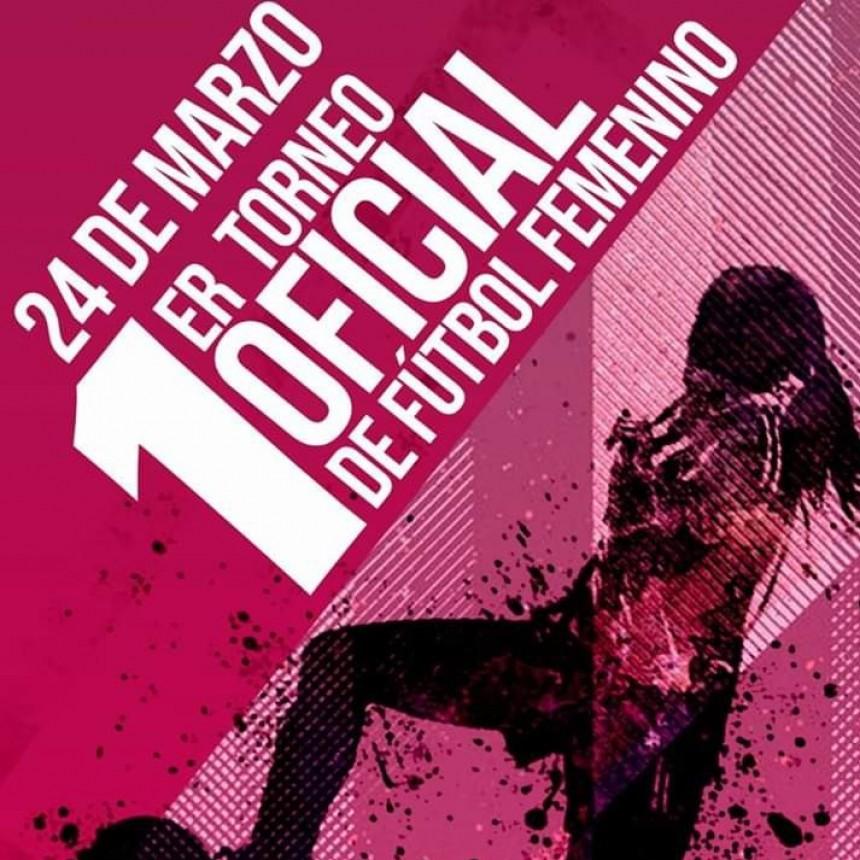 Este domingo comienza el primer Torneo Oficial de Fútbol Femenino