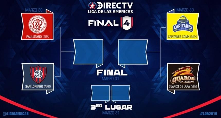 San Lorenzo será anfitrión en Boedo del Final 4 de la Liga de las Américas 2019