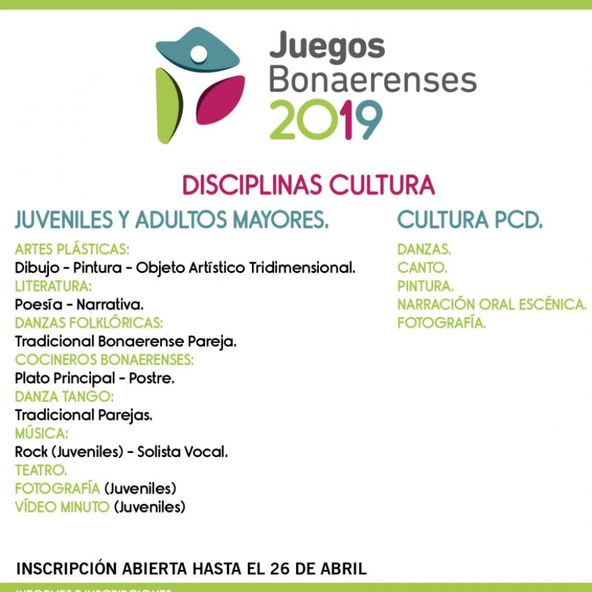 Torneos Bonaerenses 2019 - Inscripción en Saladillo