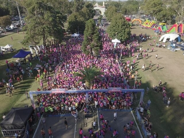 Santiago Resatti corrió en los 10k de La Plata