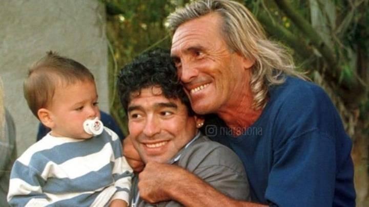 Maradona le envió un mensaje de aliento a Gatti, internado en Madrid por coronavirus
