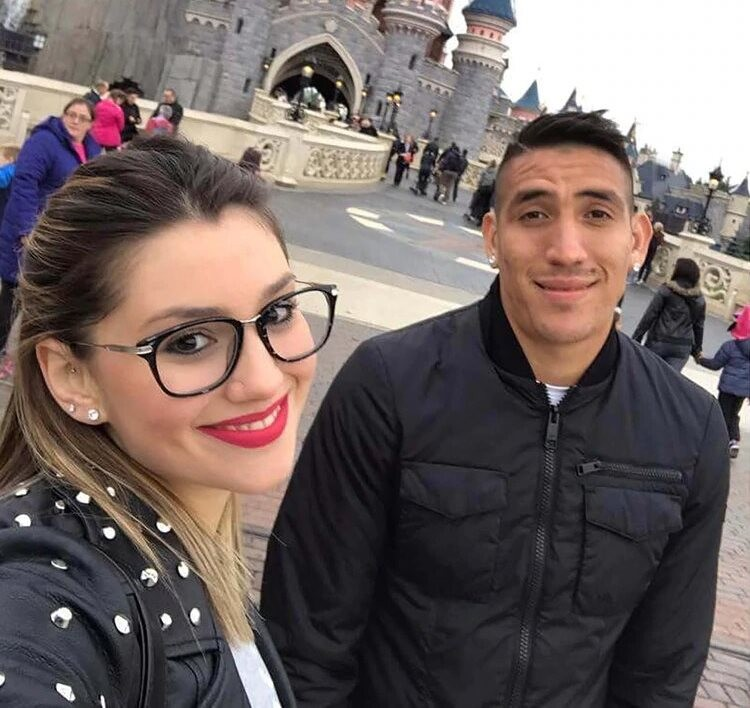 Murió la novia de Ricardo Centurión