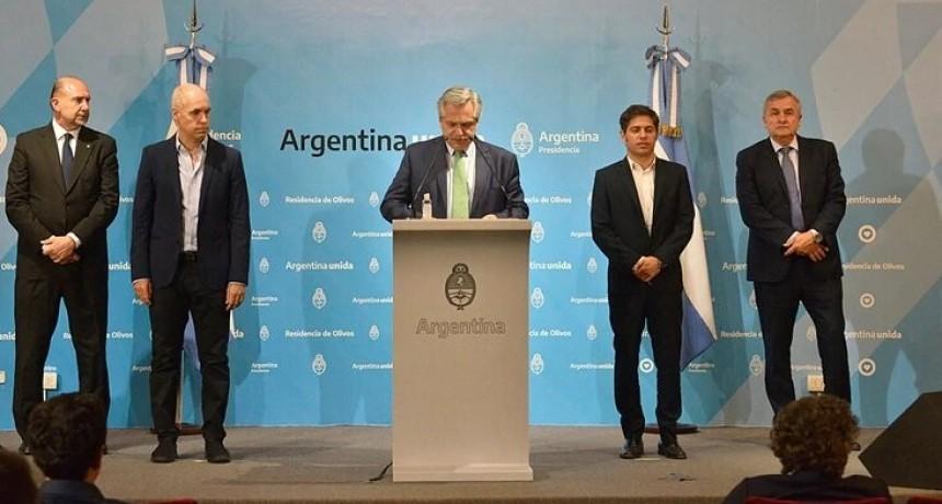 Alberto Fernández anunció que la cuarentena obligatoria comienza esta medianoche y se extenderá hasta el 31 de marzo inclusive