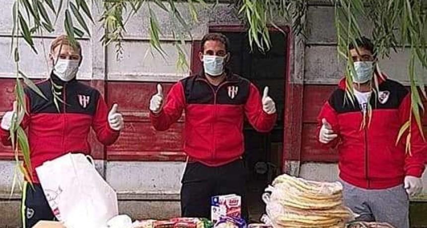 Solidario: Club La Campana recibio donaciones