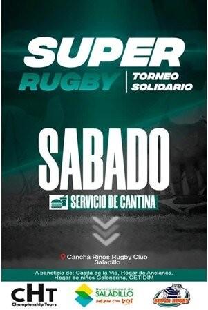 Se define el Super Rugby en Saladillo