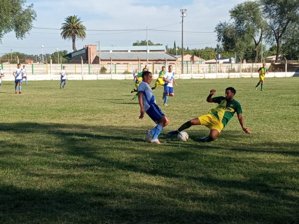 Oro Verde y Argentino igualaron en el Faustino Mierez