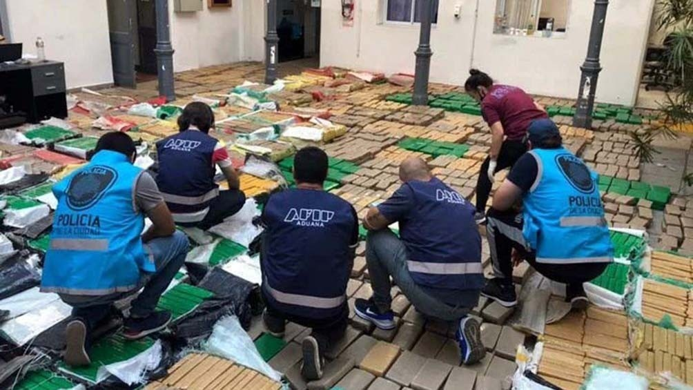 Secuestraron en Los Cardales cinco toneladas de marihuana que venían de Brasil