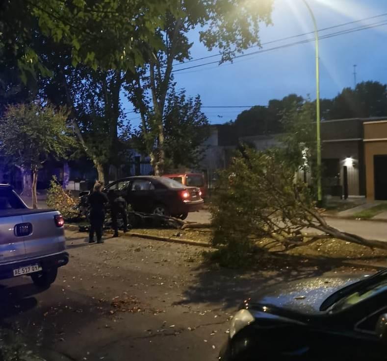 Saladillo: Siniestro vial en Av. San Martín