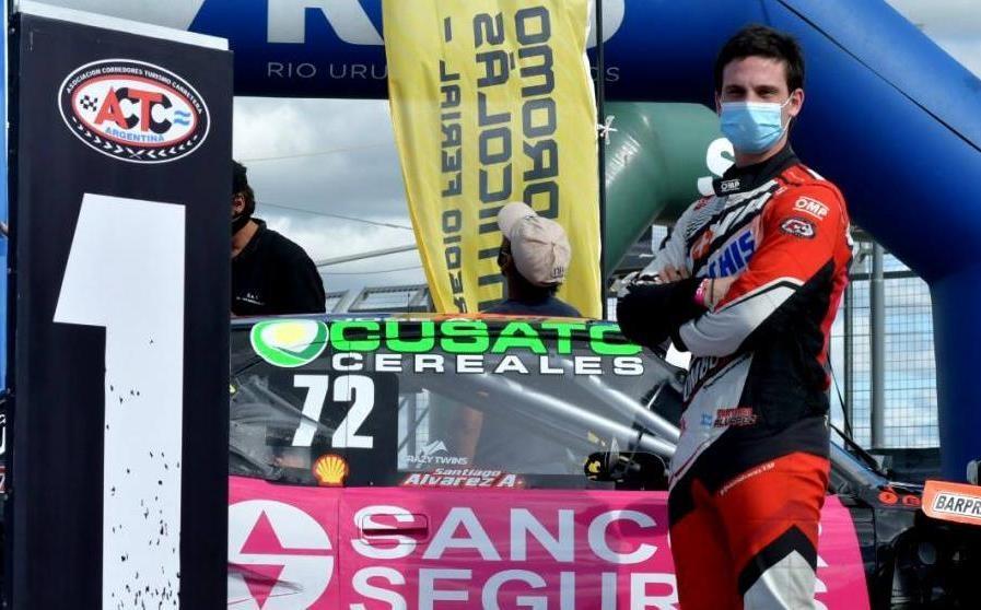 Álvarez con motor de Giustozzi logró la pole en el TC Pista