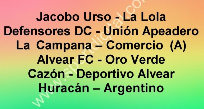 Programa quinta fecha del Torneo de Primera División del Fútbol Oficial