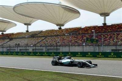 Hamilton fue el más veloz en los entrenamientos del GP de China