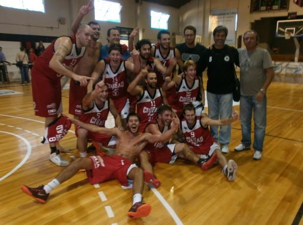 Selección de Básquet de Saladillo campeón en las Olimpíadas de la  Cuenca del Salado 2015