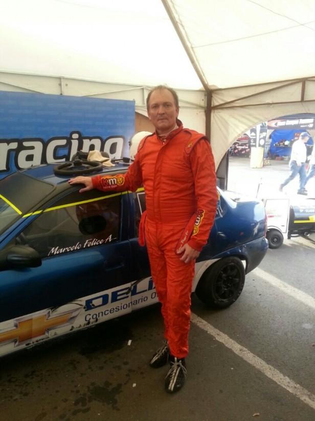 Marcelo Felice corrió en Concordia en el Turismo Pista clase 3