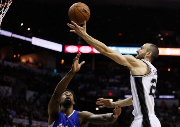 Los Spurs cayeron frente a los Clippers por 114 a 105