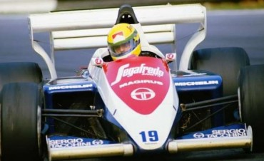 Se vende el primer Fórmula 1 de Ayrton Senna