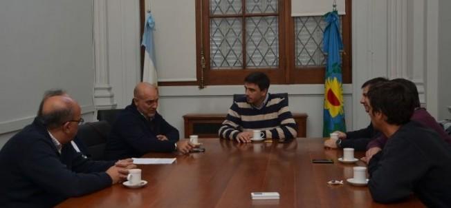 Subsecretarios de Deportes se reunieron en Olavarría con Ramiro Giménez