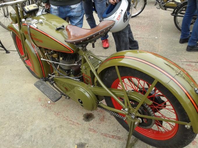 Encuentro y Exposición de Motos Antiguas en San Andres de Giles