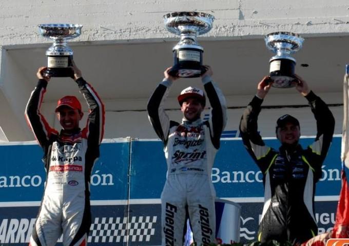 Bruno lidera el campeonato luego del segundo lugar en Olavarria