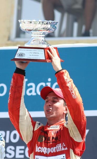 Juan Martín Bruno va por la punta del campeonato a Concordia