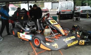 Saladillenses corrieron en el Kartodromo Luis Di Palma
