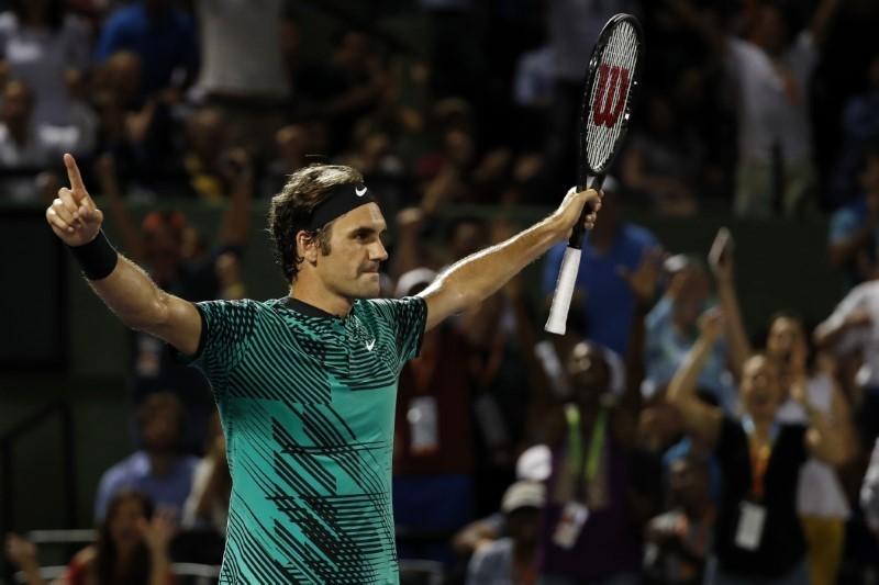 Federer venció a Nadal y se consagró en Miami