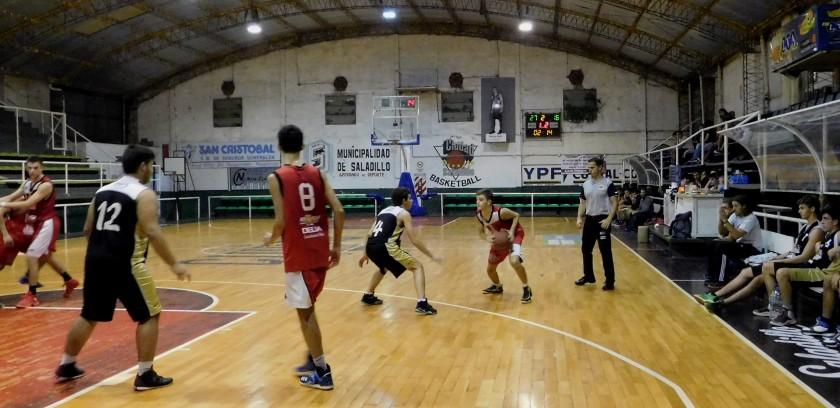 Victoria de Ciudad de Saladillo ante Argentino por el sub19