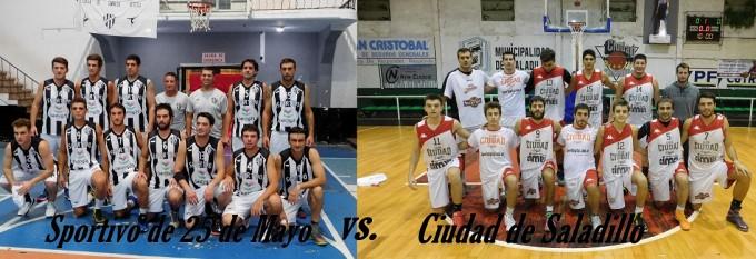 Ciudad de Saladillo juega en 25 de Mayo ante Sportivo en Primera División