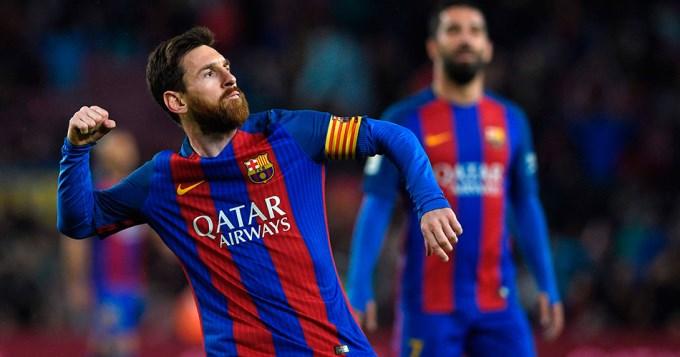 Barcelona humilló al Osasuna y Messi sigue brillando
