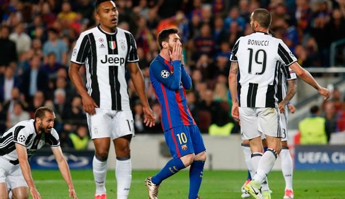 Barcelona no pudo con Juventus y se despidió de la Champions