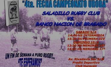 Saladillo Rugby juega este sabado ante Banco Nación de Bragado