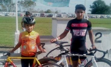 Uriel Tolosa y Emiliano Sagardoy corren en Santiago del Estero
