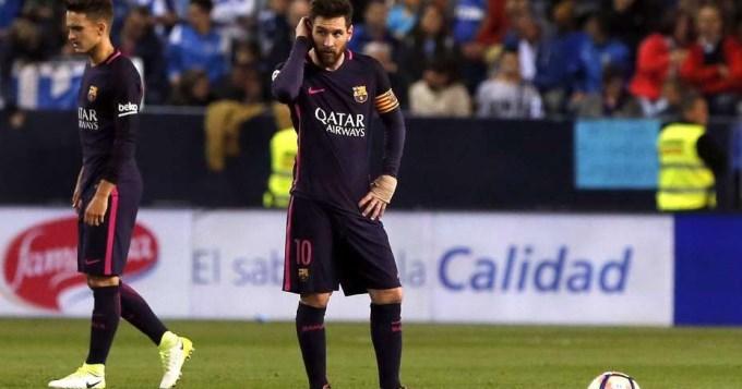 Barcelona perdió y desaprovechó su chance de alcanzar la punta